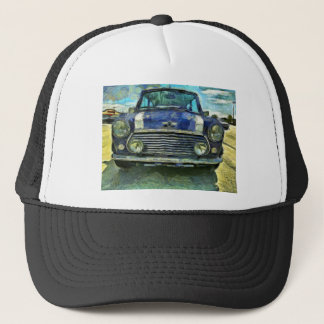 Blue Austin Mini Trucker Hat