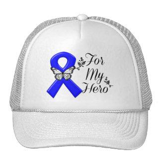 Blue Awareness Ribbon For My Hero Cap