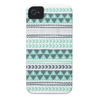 Blue Aztec iPhone case