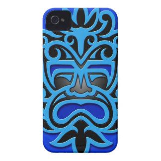 Blue Aztec Mask Blackberry Bold Cases