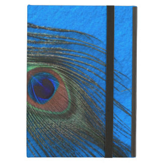 Blue B Peacock Feather Powis iPad Case