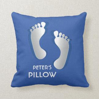 Blue Baby Boy Pillow