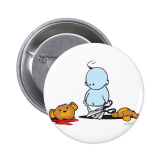 Blue Baby Button