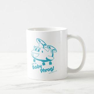 Blue Baby Phrog Classic White Coffee Mug