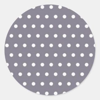 blue baby scores pünktchen dabs polka dots hots round sticker