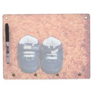 Blue baby shoes Dry-Erase boards