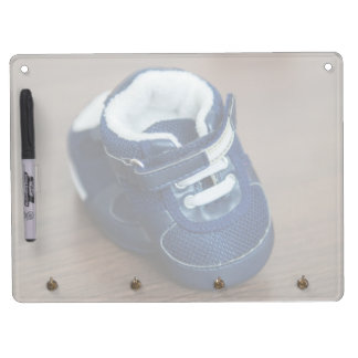 Blue baby shoes dry erase whiteboards