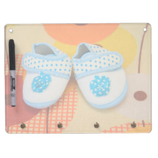 Blue baby shoes Dry-Erase board