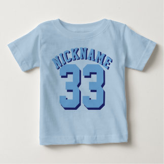 Blue Baby | Sports Jersey Design T-shirts