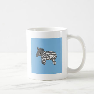 blue baby tapir coffee mug