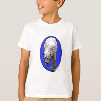Blue Background Polar Bear_2017-04-23 15-06-09 T-Shirt