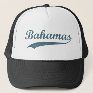 Blue Bahamas Trucker Hat
