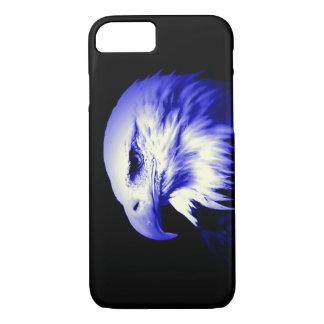 Blue Bald American Eagle iPhone 7 Case