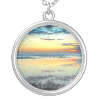 Blue Bali Sunset Necklace