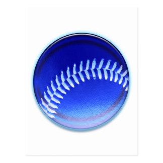 Blue Ball Postcard
