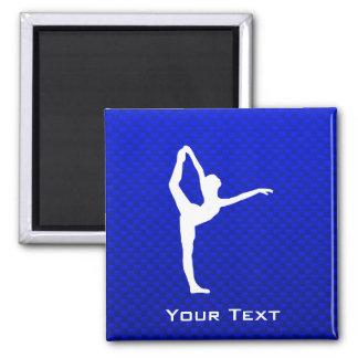 Blue Ballet Refrigerator Magnet