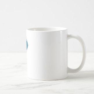 Blue Ballet Shoe Icon Basic White Mug