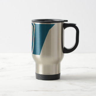 Blue Ballet Shoe Icon Stainless Steel Travel Mug