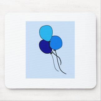 Blue  Ballons Mousepad