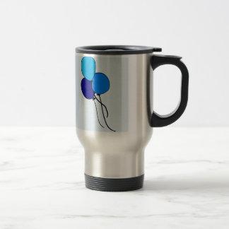 Blue  Ballons Coffee Mug