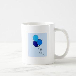 Blue  Ballons Coffee Mugs