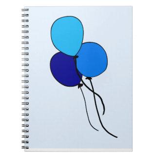 Blue  Ballons Note Book