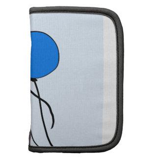 Blue  Ballons Folio Planner