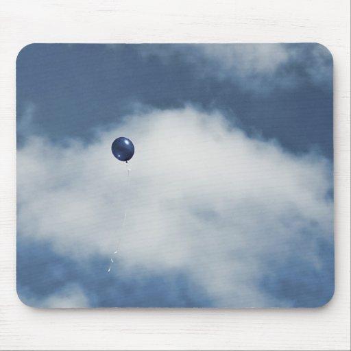 Blue Balloon Mousepad