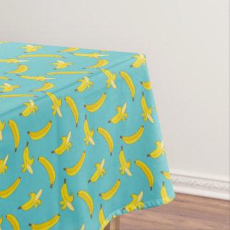 Blue Bananas Tablecloth