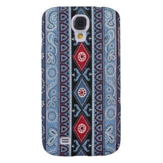 Blue Bandana Hard Shell Case for iPhone 3G 3GS Samsung Galaxy S4 Cover