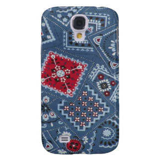 Blue Bandana Hard Shell Case for iPhone 3G 3GS Samsung Galaxy S4 Covers
