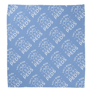 Blue Bandana Official 2016 Pedal For Peds T-Shirt