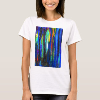 Blue Bars ( abstract expressionism painting) T-Shirt
