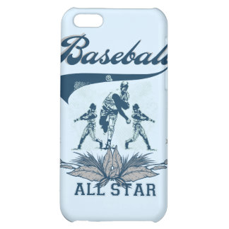 Blue Baseball All Star T-shirts and Gifts iPhone 5C Cases