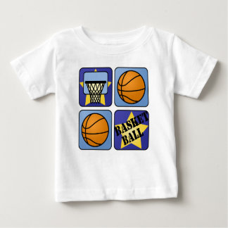 Blue Basketball Baby T-Shirt