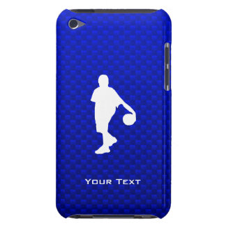 Blue Basketball Barely There iPod Cases