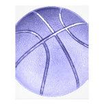 Blue Basketball Full Colour Flyer