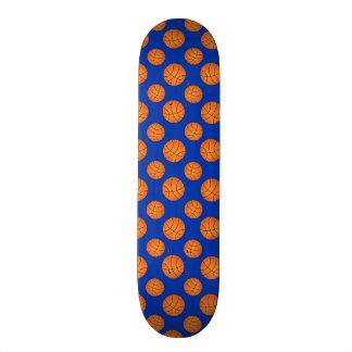 Blue basketball pattern skate decks