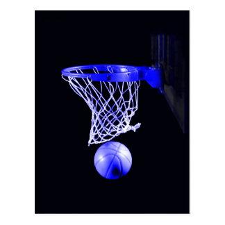 Blue Basketball Postcards