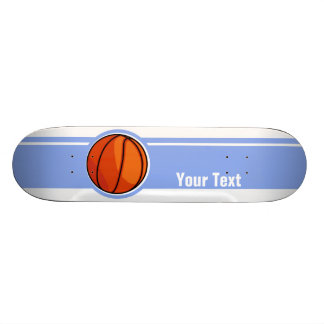 Blue Basketball Sport Skate Board