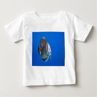 Blue Bat Fish Baby T-Shirt