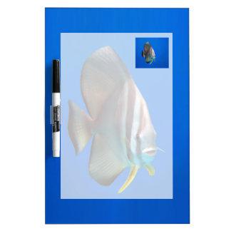 Blue Bat Fish Dry Erase Board