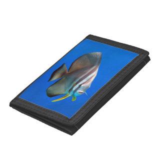 Blue Bat Fish Tri-fold Wallet