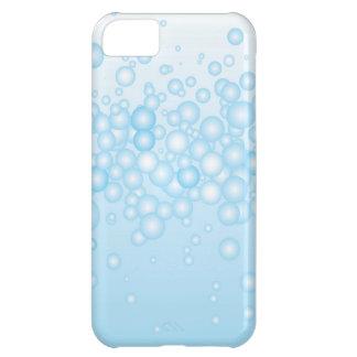 Blue Bath Bubbles iPhone 5C Case