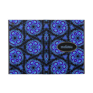 Blue Batik Celitica Pattern iPad Cases