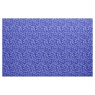Blue Batik Leopard - fabric