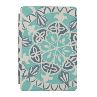 Blue Batik Tile I iPad Mini Cover