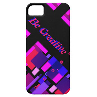 Blue Be Creative Phone iPhone 5 Case