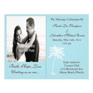 Blue Beach Getaway Programs Personalized Flyer