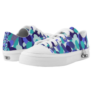 "Blue ""beach glass"" sneakers"